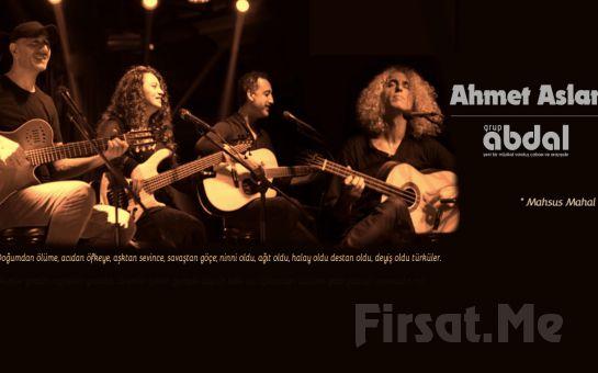 Anadolu Müziğinin Ünlü Sanatçısı 'Ahmet Aslan & Grup Abdal' Konser Bileti