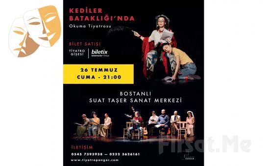 'Kediler Bataklığı'nda' Okuma Tiyatrosu Bileti