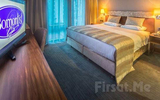 Ümraniye Bomontist Suite Hotel'de Kahvaltı Dahil Konaklama Seçenekleri