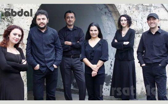 19 Ekim'de Leyla Gencer Opera ve Sanat Merkezi'nde Grup Abdal Konser Bileti