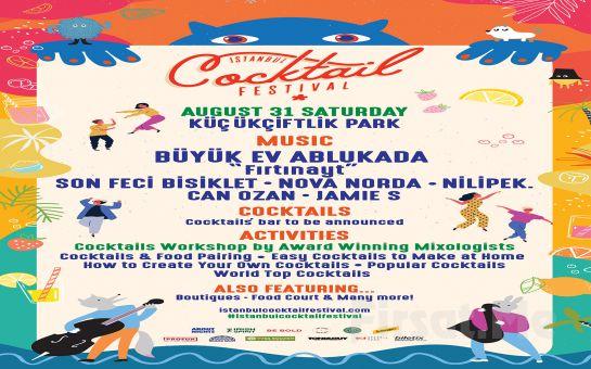 Küçük Çiftlik Park'ta İstanbul Cocktail Festival 2019 Bileti