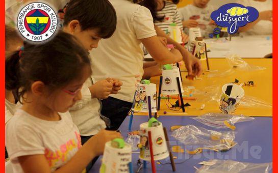 Fenerium Düşyeri Deneyim Kulübü'nde Çocuklarınızın Yeteneğini Ortaya Çıkartacak Atölye Çalışmaları
