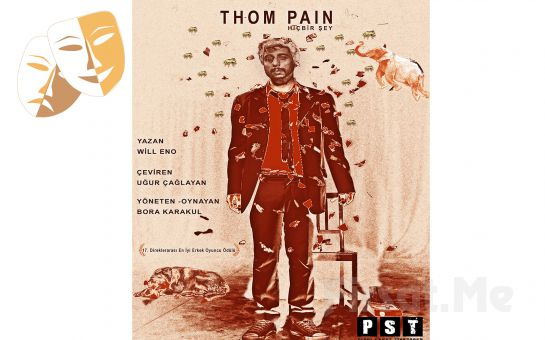 Sıradan, İfadesiz Bir Adamın Hikayesi 'Thom Pain' Tiyatro Oyunu Bileti