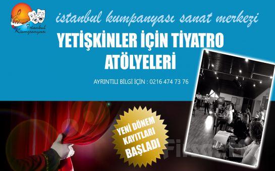 İstanbul Kumpanya'sından Yetişkinler İçin Tiyatro Eğitimi 500 TL yerine 250 TL