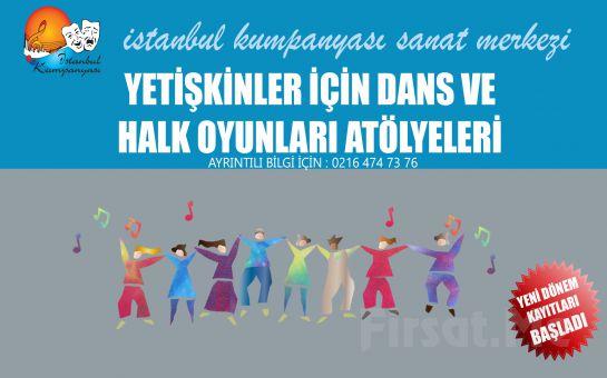 İstanbul Kumpanya'sından Yetişkinler için Dans ve Halk Oyunları Atölyeleri