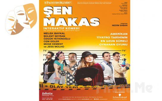 Guiness Rekorlar Kitabı'na Geçen 'Şen Makas' Tiyatro Oyun Bileti 84 TL yerine 58 TL