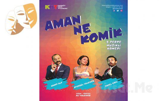 İlişkilerin Komedi Tarzında Anlatımı 'Aman Ne Komik' Tiyatro Oyunu Bileti