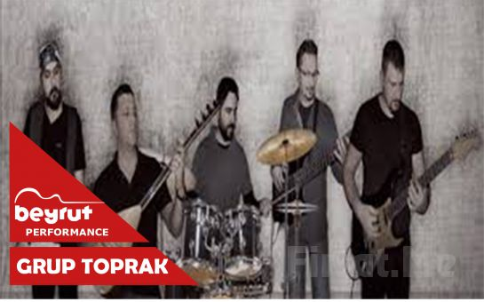 Beyrut Performance Kartal Sahne'de 6 Kasım'da 'Grup Toprak' Konser Bileti