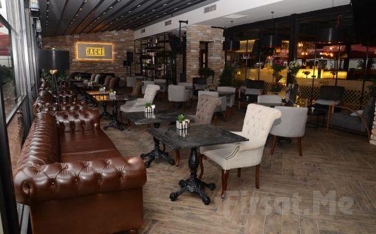 Ataşehir Cache Restaurant'ta Lezzetli Serpme Kahvaltı Menüsü