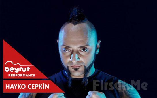 Beyrut Performance Kartal Sahne'de 22 Kasım'da 'Hayko Cepkin' Konser Bileti