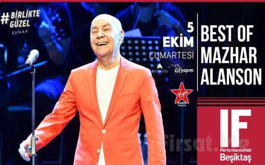 IF Performance Beşiktaş'ta 5 Ekim'de 'Mazhar Alanson' Konser Bileti