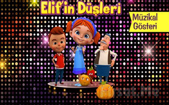 Çocuklarınızın Severek ve Keyifle İzleyeceği 'Elif'in Düşleri' Tiyatro Oyunu Bileti