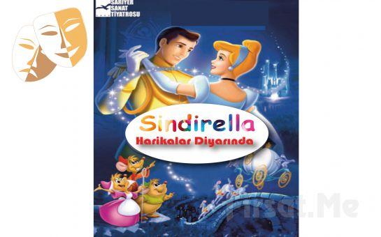 Klasik Masal Kahramanı 'Sinderella Harikalar Diyarında' Çocuk Tiyatro Oyun Bileti