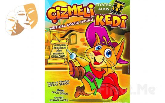 Çocuklarınız için 'Çizmeli Kedi' Tiyatro Oyunu Bileti