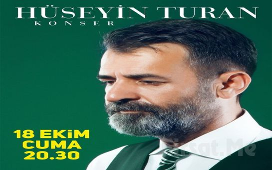 Türk Halk Müziği Sevenler için 'Hüseyin Turan' Konser Bileti