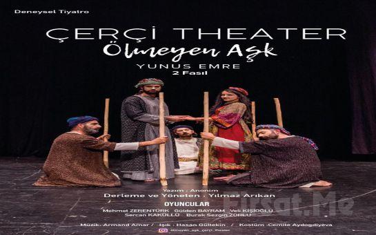 Evrende Aslolan Aşktır Diyen Derviş 'Ölmeyen Aşk Yunus Emre' Tiyatro Oyunu Bileti