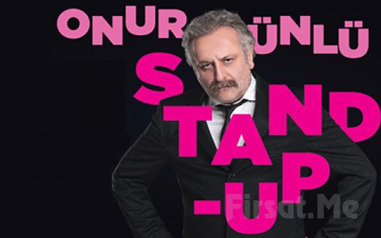 Ünlü Yönetmen Onur Ünlü'den Tek kişilik Stand Up Gösterisi Bileti