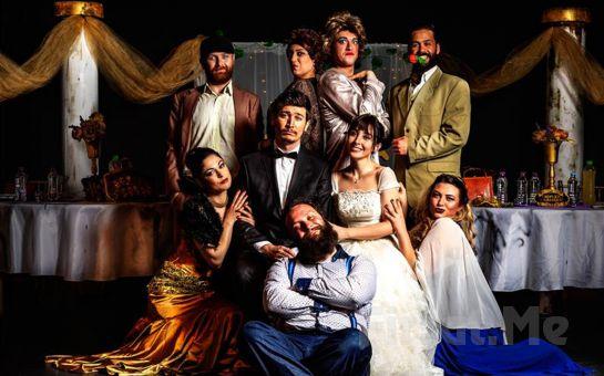 Kahkaha Tufanı Trajikomik Bir Düğün 'Yılın Düğünü' Tiyatro Oyunu Bileti