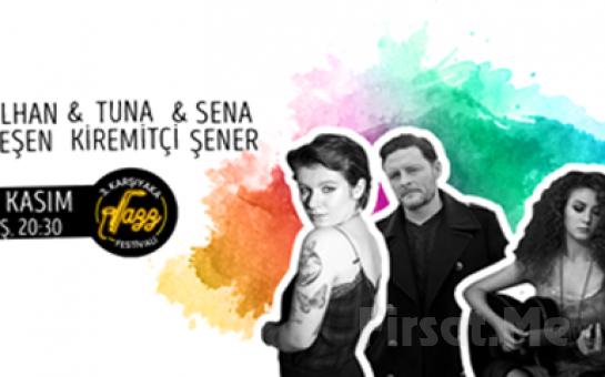 Bostanlı Suat Taşer Tiyatrosu'nda 27 Kasım'da 'Tuna Kiremitçi & Konuk Sanatçılar: Dilhan Şeşen - Sena Şener' Konser Bileti