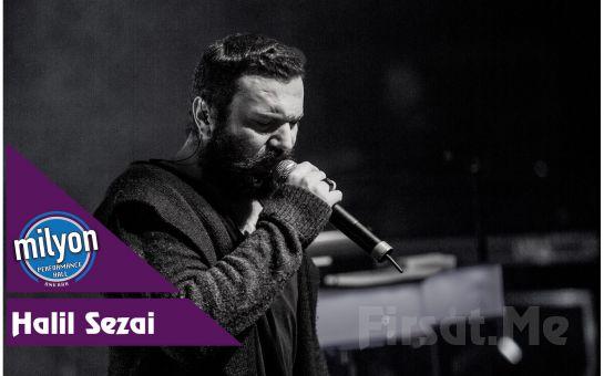 Milyon Performance Hall Ankara'da 6 Kasım'da 'Halil Sezai' Konser Bileti