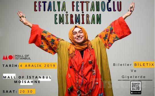 Moi Sahne'de 4 Aralık'ta Farklı Tür ve Dillerde Eserlerle 'Eftalya Fettahoğlu Emirmiran' Konser Bileti