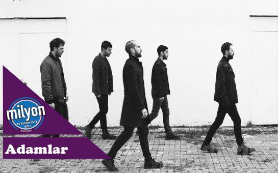 Milyon Performance Hall Ankara'da 25 Aralık'ta 'Adamlar' Konser Bileti