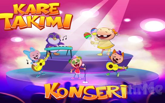 Kare Takımı Konseri Müzikal Çocuk Tiyatro Oyun Bileti
