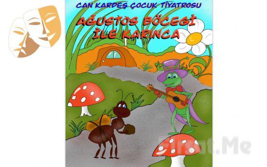 Çocuklarınız İçin Hem Eğitici Hem Öğretici 'Ağustos Böceği ve Karınca' Tiyatro Bileti