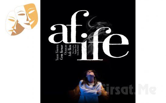 Türk Tiyatrosunun Unutulmaz İsmi Afife Jale'yi Anlatan 'Afife' Tiyatro Oyunu Bileti