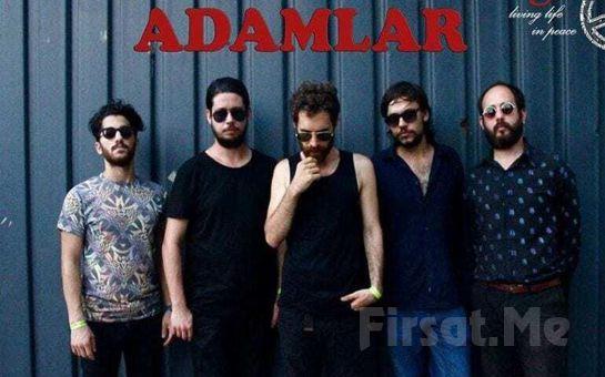 Akasya Kültür Sanat'ta 10 Ocak'ta Sevilen Şarkılarıyla 'Adamlar' Konser Bileti