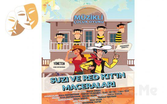 Pedegog Onaylı 'Suzi ve Red Kit'in Maceraları' Tiyatro Oyunu Bileti