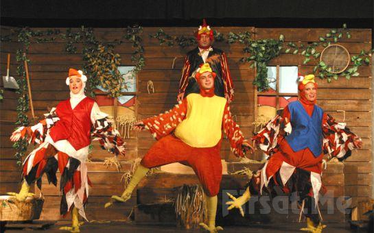 Çocuklarınız İçin 'Bir Kümes Müzikali' Tiyatro Oyunu Bileti
