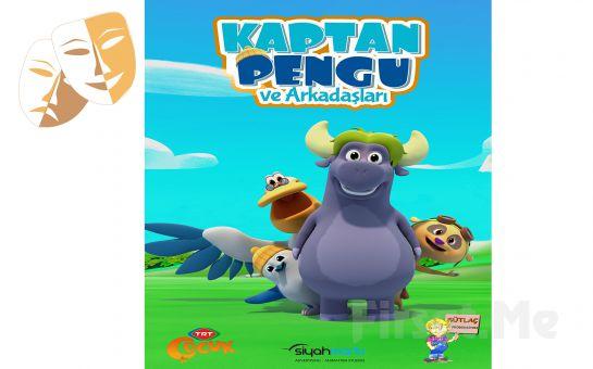 TRT Çocuk Kanalının Sevilen Kahramanları 'Kaptan Pengu ve Arkadaşları' Müzikali Bileti