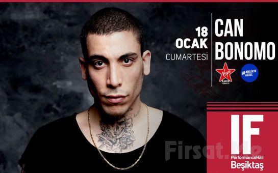 IF Performance Hall Beşiktaş'ta 18 Ocak'ta 'Can Bonomo' Konser Bileti