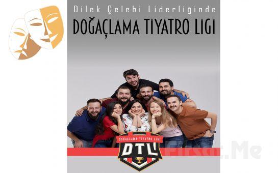 Jüri Koltuğunda Sizin Olacağınız Kahkaha Tufanı 'Dilek Çelebi ile Doğaçlama Tiyatro Ligi ' Tiyatro Bileti