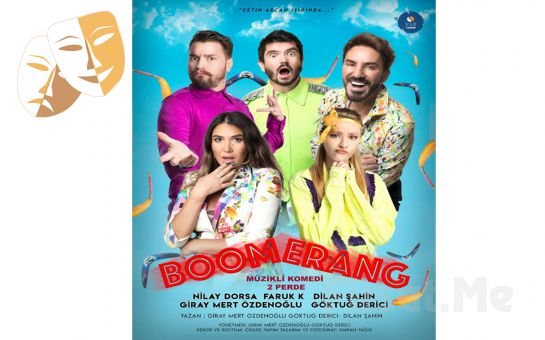 Nilay Dorsa'nın 7 Karekteri Canlandırdığı 'Boomerang' Tiyatro Oyunu Bileti