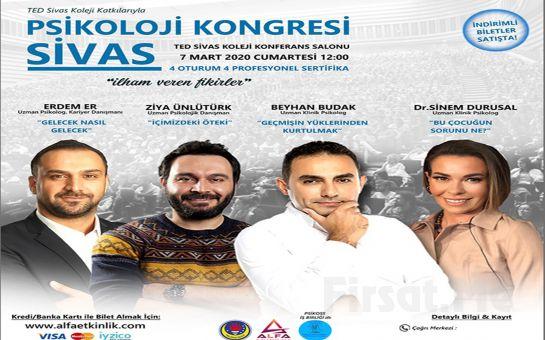 'İlham Veren Fikirler' Sivas Psikoloji Kongresi Katılım Bileti