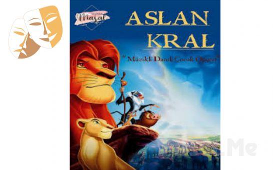 Çocuklarınız İçin 'Aslan Kral' Tiyatro Oyunu Bileti