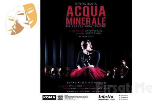 Herşeyin Kan Kırmızıya Büründüğü Dehşet Verici Bir Trajedi 'Acqua Minerale' Tiyatro Oyunu Bileti