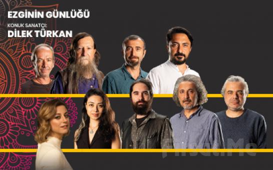 Bostanlı Suat Taşer Tiyatrosu'nda 18 Şubat'ta 'Ezginin Günlüğü ve Konuk Sanatçı Dilek Türkan' Konser Bileti