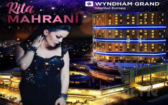 Güneşli Wyndham Grand İstanbul Europe'ta Rita Mahrani Eşliğinde 14 Şubat Sevgililer Günü Özel Galası