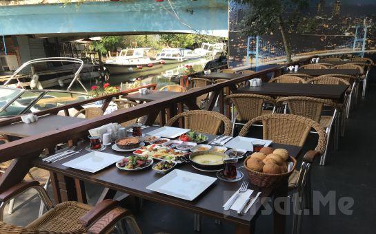 Anadolu Hisarı Göksu Locca Cafe Resto'da 30 Çeşitten Oluşan Leziz Serpme Kahvaltı Keyfi