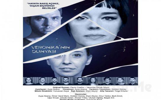 Paulo Coelho'nun Romanından Uyarlanan Muhteşem Bir Başyapıt 'Veronika'nın Dünyası' Tiyatro Oyunu Bileti