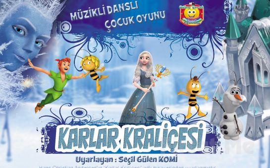 Çocuklarınız İçin Müzikli ve Danslı İnteraktif 'Karlar Kraliçesi' Tiyatro Oyunu Bileti