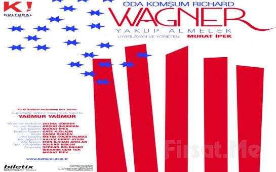 Sistem Eleştirisini Sıradışı Bir Temele Oturtan 'Oda Komşum Richard Wagner' Tiyatro Oyunu Bileti