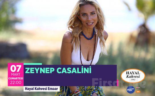 Hayal Kahvesi Emaar Square'da 'Zeynep Casalini' Konser Bileti