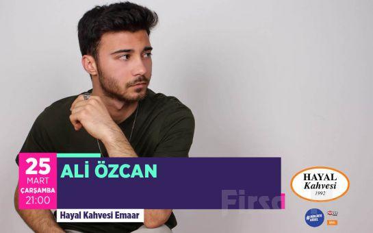 Hayal Kahvesi Emaar Square'da 'Ali Özcan' Konser Bileti