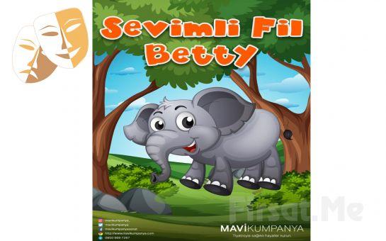 'Sevimli Fil Betty' Çocuk Tiyatro Oyunu Bileti