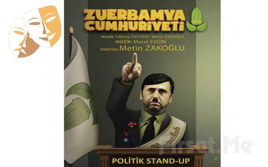 Metin Zakoğlu ile 'Zuerbamya Cumhuriyeti Nedir?' Tiyatro Oyunu Bileti