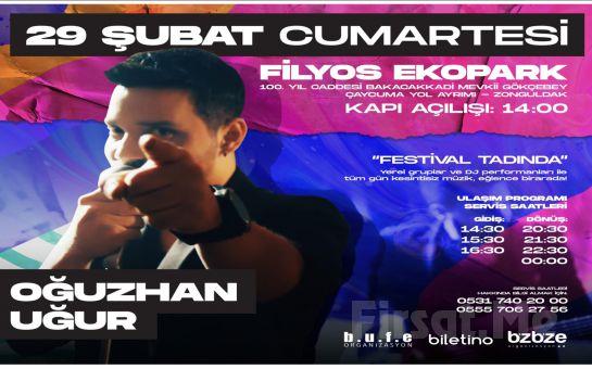 Zonguldak Filyos Ecopark'ta 'Oğuzhan Uğur' Konser Bileti ve Konaklama Seçenekleri